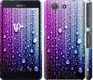 Чехол на Sony Xperia Z3 Compact D5803 Капли воды