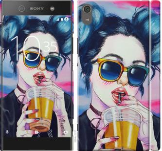 Чехол на Sony Xperia XA1 Ultra G3212 Арт-девушка в очках