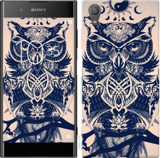 Чехол на Sony Xperia XA1 Plus G3412 Узорчатая сова