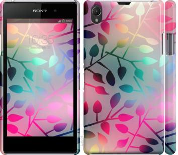 Чехол на Sony Xperia Z1 C6902 Листья