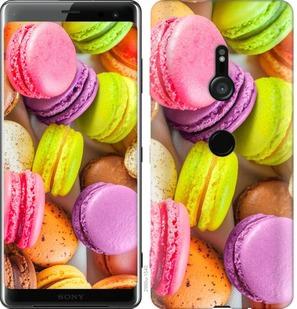 Чехол на Sony Xperia XZ3 H9436 Макаруны
