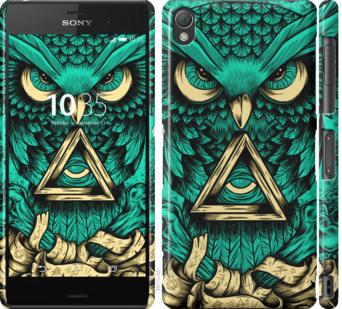 Чехол на Sony Xperia Z3 D6603 Сова Арт-тату