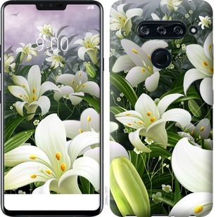Чехол на Sony Xperia 10 Plus I4213 Белые лилии