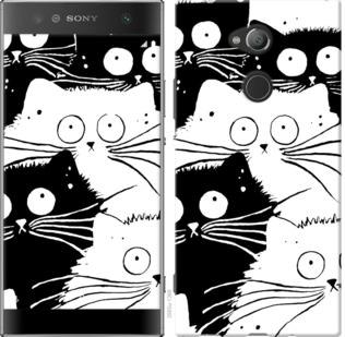 Чехол на Sony Xperia XA2 Ultra H4213 Коты v2