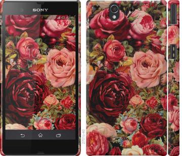 Чехол на Sony Xperia Z C6602 Цветущие розы