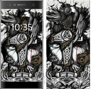 Чехол на Sony Xperia XA2 Ultra H4213 Тату Викинг