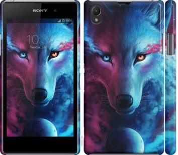 Чехол на Sony Xperia Z1 C6902 Арт-волк