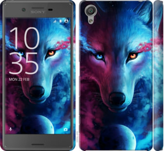 Чехол на Sony Xperia X F5122 Арт-волк