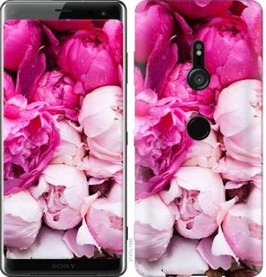 Чехол на Sony Xperia XZ3 H9436 Розовые пионы