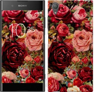 Чехол на Sony Xperia XA1 Plus G3412 Цветущие розы