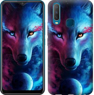 Чехол на Vivo Y17 Арт-волк
