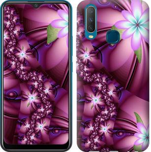 Чехол на Vivo Y17 Цветочная мозаика