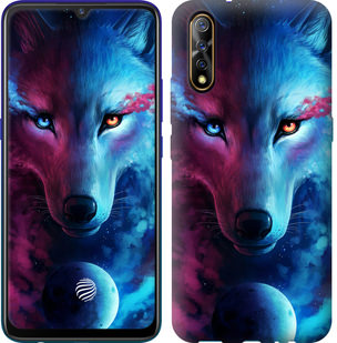 Чехол на Vivo V17 Neo Арт-волк