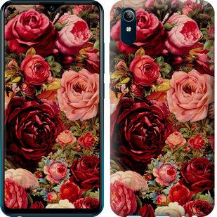 Чехол на Vivo Y91C Цветущие розы