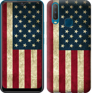 Чехол на Vivo Y17 Флаг США