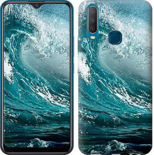 Чехол на Vivo Y17 Морская волна