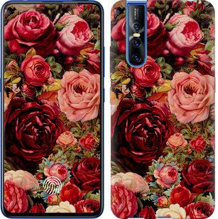 Чехол на Vivo V15 pro Цветущие розы