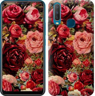 Чехол на Vivo Y17 Цветущие розы