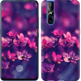 Чехол на Vivo V15 pro Пурпурные цветы