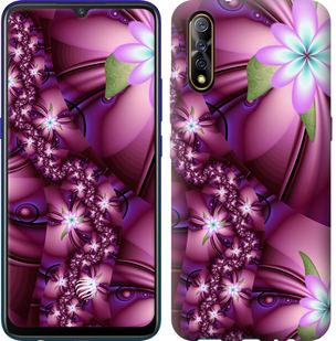 Чехол на Vivo V17 Neo Цветочная мозаика