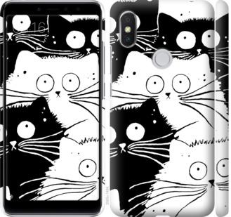 Чехол на Xiaomi Redmi S2 Коты v2