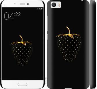 Чехол на Xiaomi Mi5 Черная клубника