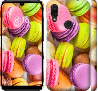Чехол на Xiaomi Redmi 7 Макаруны
