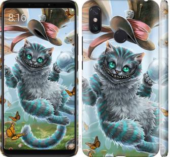 Чехол на Xiaomi Mi Max 3 Чеширский кот 2