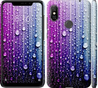 Чехол на Xiaomi Redmi Note 6 Pro Капли воды