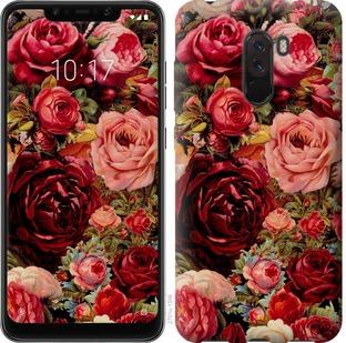 Чехол на Xiaomi Pocophone F1 Цветущие розы