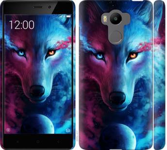 Чехол на Xiaomi Redmi 4 pro Арт-волк