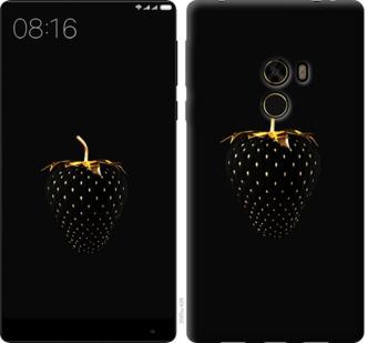 Чехол на Xiaomi Mi MiX Черная клубника