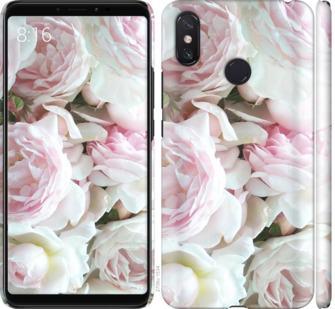 Чехол на Xiaomi Mi Max 3 Пионы v2