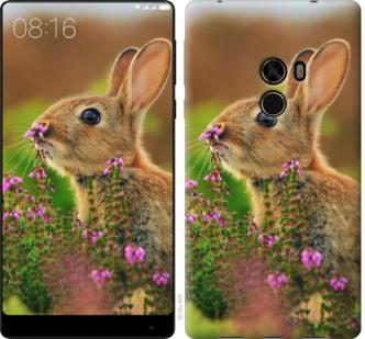 Чехол на Xiaomi Mi MiX Кролик и цветы