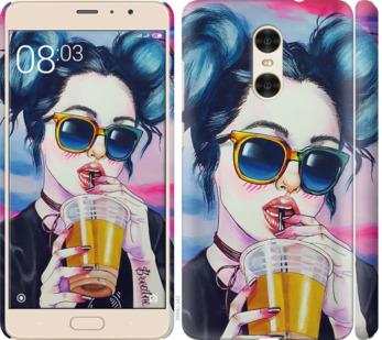 Чехол на Xiaomi Redmi Pro Арт-девушка в очках