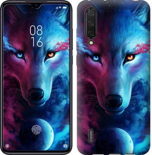 Чехол на Xiaomi Mi CC9 Арт-волк