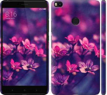 Чехол на Xiaomi Mi Max 2 Пурпурные цветы