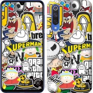 Чехол на Xiaomi Mi 9 SE Popular logos