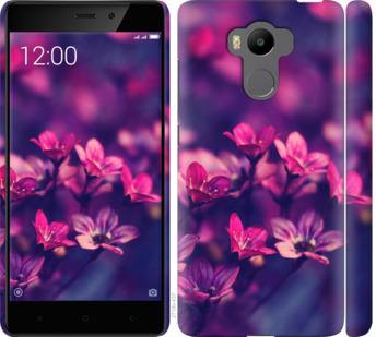 Чехол на Xiaomi Redmi 4 pro Пурпурные цветы