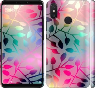Чехол на Xiaomi Mi Max 3 Листья