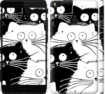 Чехол на Xiaomi Mi Max 2 Коты v2