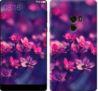 Чехол на Xiaomi Mi MiX Пурпурные цветы