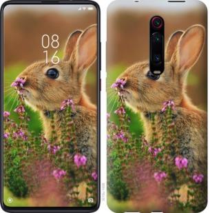 Чехол на Xiaomi Mi 9T Pro (K20 Pro) Кролик и цветы