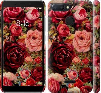 Чехол на Xiaomi Redmi 6 Цветущие розы