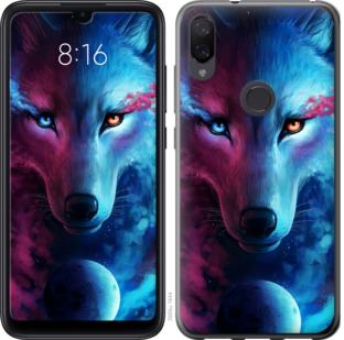 Чехол на Xiaomi Mi Play Арт-волк