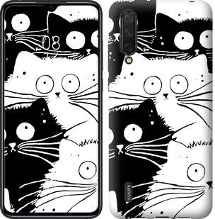 Чехол на Xiaomi Mi CC9 Коты v2