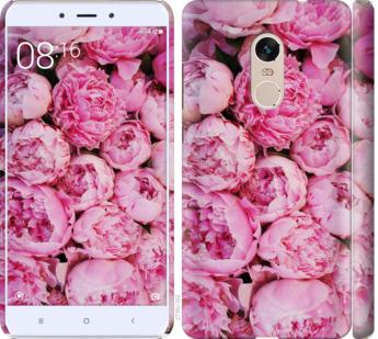 Чехол на Xiaomi Redmi Note 4 Пионы v3