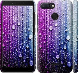 Чехол на Xiaomi Redmi 6 Капли воды