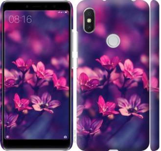 Чехол на Xiaomi Redmi S2 Пурпурные цветы