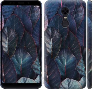 Чехол на Xiaomi Redmi 5 Plus Листья v3